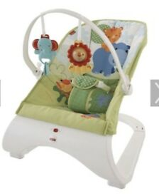 Fisher price rainforest bouncer chair
