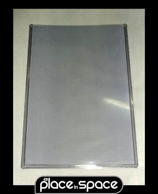 1 X COMIC TOPLOADER SILVER AGE/CURRENT - RIGID, CRYSTAL CLEAR DISPLAY HOLDER