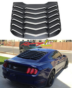 2015-2017 Ford Mustang K Style Rear Window Louver ABS
