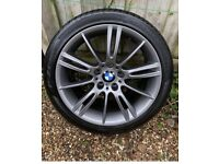 Wanted BMW mv3 alloys and tyres