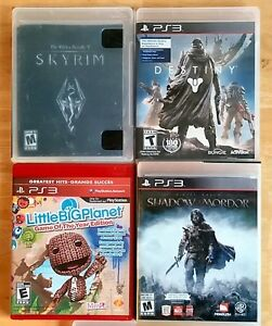 PS3 Games. Adventure, Fantasy, FPS. Great Condition. $5 to $9