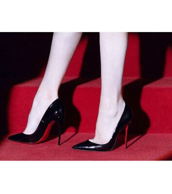 Christian Louboutin So Kate 120 Patent  Pumps Stilettos Black in Gr. 37,5 Patent Stiletto Pump