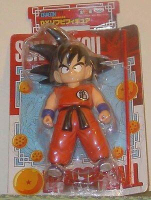 2007 Banpresto Dragon Ball Z Son Gokou Action Figure Rare