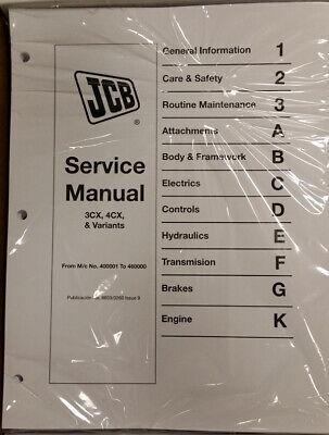Jcb 3cx 4cx 214 214 215 217 Service Repair Shop Manual - Part 98033260