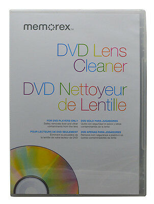 Memorex LASER LENS CLEANER FOR DVD Brand NEW