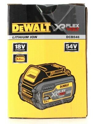DeWalt DCB546-XJ FlexVolt 6.0 Ah Li-Ion Ersatzakku 54V 18V