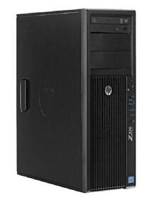 HP Z420 WorkStation Intel Xeon E5-1620 3.60Ghz , 32Gb RAM , 500Gb HDD