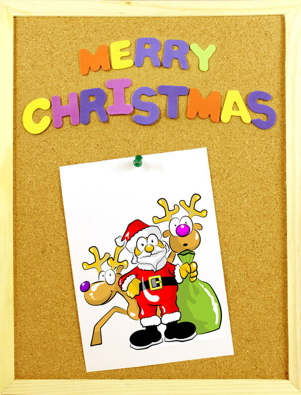 Ideas for Decorating a Preschool Christmas Bulletin Board ...
