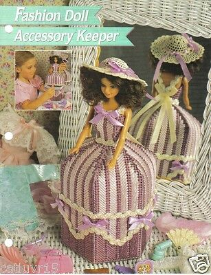 Fashion Doll accessory Keeper Plastic Canvas Pattern