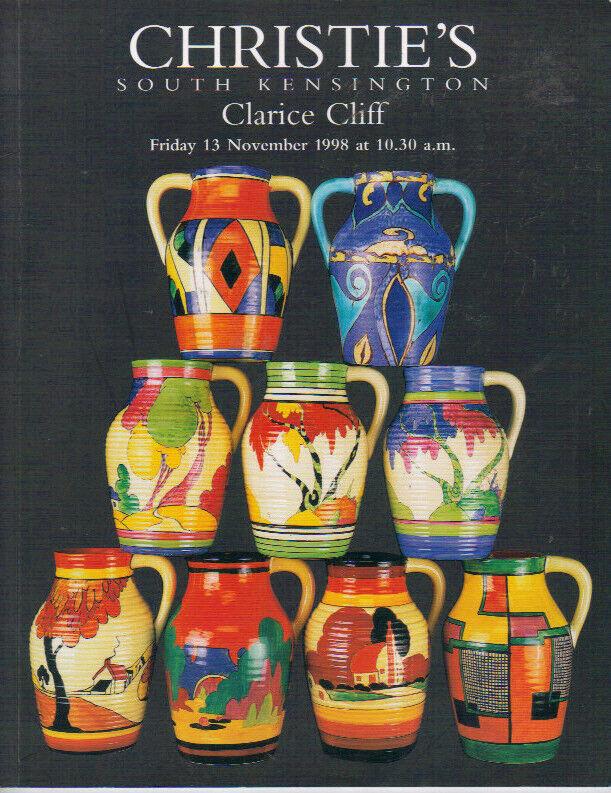 RARE - CHRISTIE'S Clarice Cliff Auction Catalog 1998