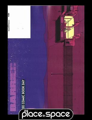 FREE COMIC BOOK DAY 2018 - BARRIER #1 (BRIAN K VAUGHN)