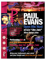 """AJs """"Jim Jam"""" Open Mic - Wing & SIng"""