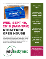 Stratford Open House- Apply Today - Chance to win $100 Gift Card