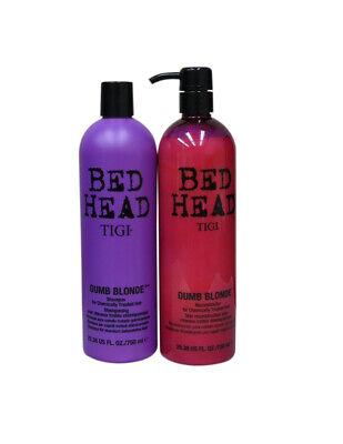 Dumb Blonde Shampoo Conditioner (Tigi Bed Head Dumb Blonde Shampoo & Conditioner Duo Set  25.36 oz  )