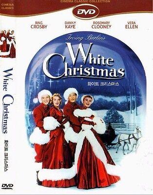 White Christmas (1954) Bing Crosby, Danny Kaye, Rosemary Clooney [DVD] FAST SHIP