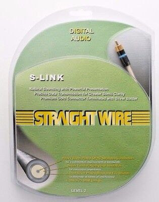 Straightwire S-link 1.0 Meter Digital Coaxial Cable / Aud...