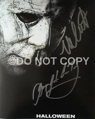 Nick Castle/James Jude Courtney Michael Myers Halloween Signed Autographed Repo