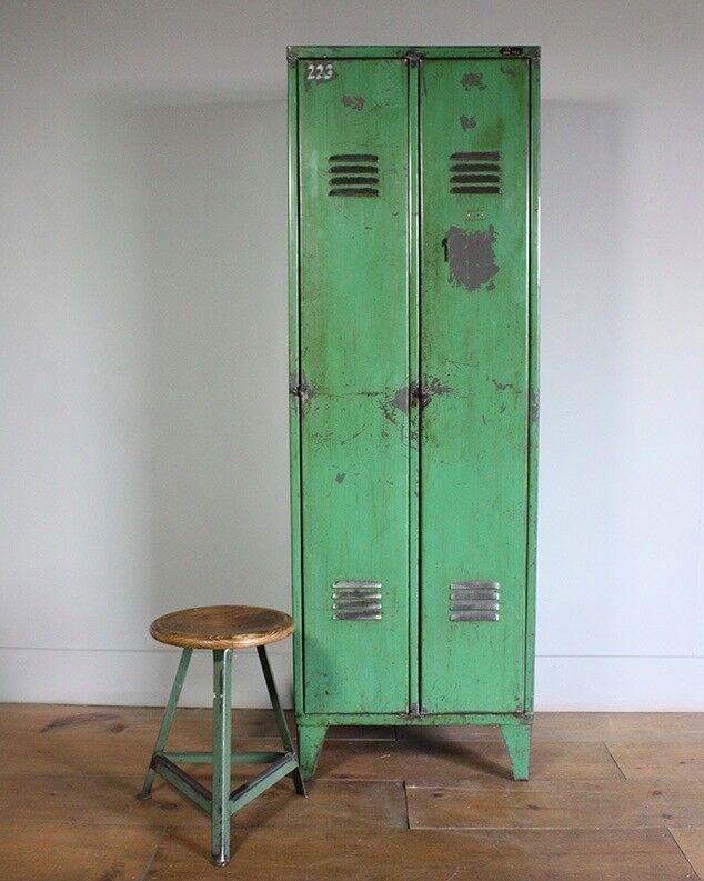 Industrial/Loft Chic Vintage 70s Storage Lockers; retailed for £445 @ Design Store