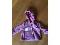 Mini boden baby coat 3-6months