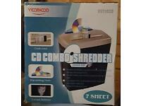 Cd combo shredder unused and boxed