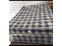Double Bed. Brand New Sealed Bed Base