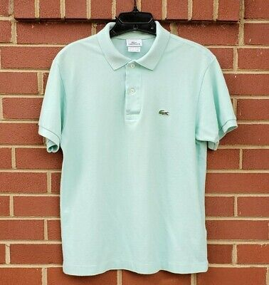 LACOSTE SPORT MENS POLO SHIRT SIZE MED COLOR MINT