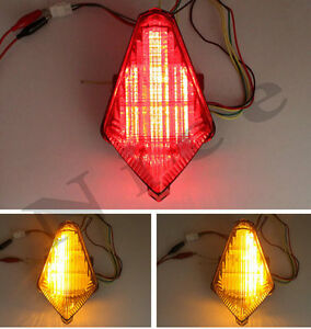 Integrated LED TailLight Turn Signals Yamaha R1 07-08