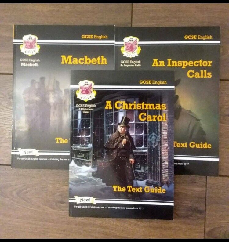 Christmas Carol Text Guide.Cpg Macbeth A Christmas Carol An Inspector Calls Gcse Text Guides In Solihull West Midlands Gumtree