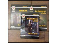 CPG - Macbeth, A Christmas Carol & An Inspector Calls gcse text guides