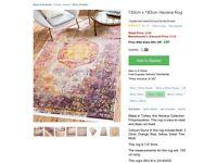 Moroccan rug 130x183cm