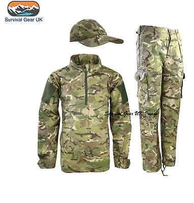 KIDS CHILDREN'S BTP ARMY OUTFIT CAMO TROUSERS UBACS - Kinder Army Outfits