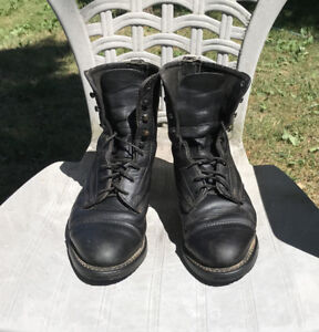 Quality Leather Paddock Boots, Ladies 8