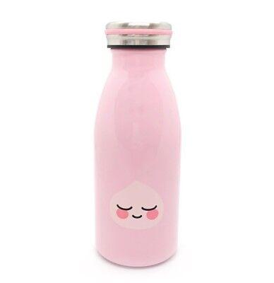 Kakao Friends Apeach Vaccum Flasks Insulated Stainless Steel Bottle 12 Oz Pink