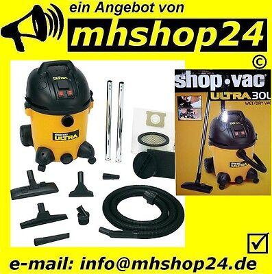 Staubsauger Shop Vac Ultra 30 S Nass- Trockensauger Industriesauger