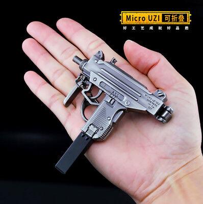 TOY 1/5 PUBG Mini Micro UZI 9mm SMG gun BattleField4 Battleground Metal 6inch - Uzi 9mm