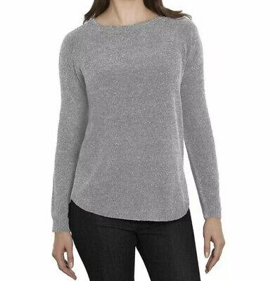 Ellen Tracy Womens Soft Chenille Tweed Sweater XXl
