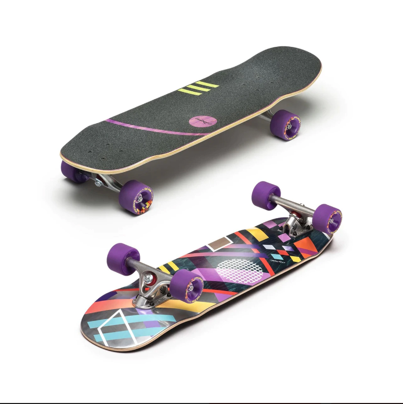Loaded Boards Coyote Longboard Complete Paris 150 Trucks, 83a Fat Frees  - $140.95