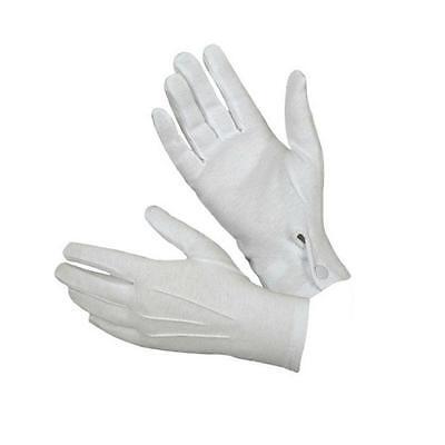 Creative White Formal Gloves Tuxedo Honor Guard Parade Santa Men Inspection US