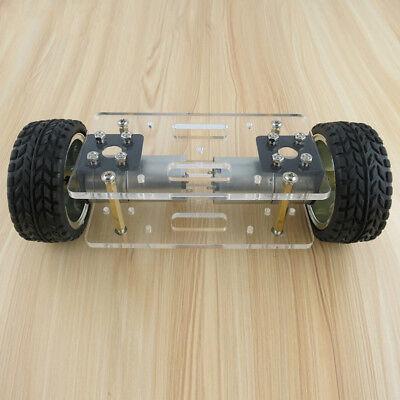 Jmt Acrylic Plate Car Chassis Frame Self-balancing Mini Two-drive 2 Wheels Robot