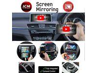 Phone Mirroring Interface Retrofit Install Factory Screen Audi BMW Porsche Mercedes Rover Lexus