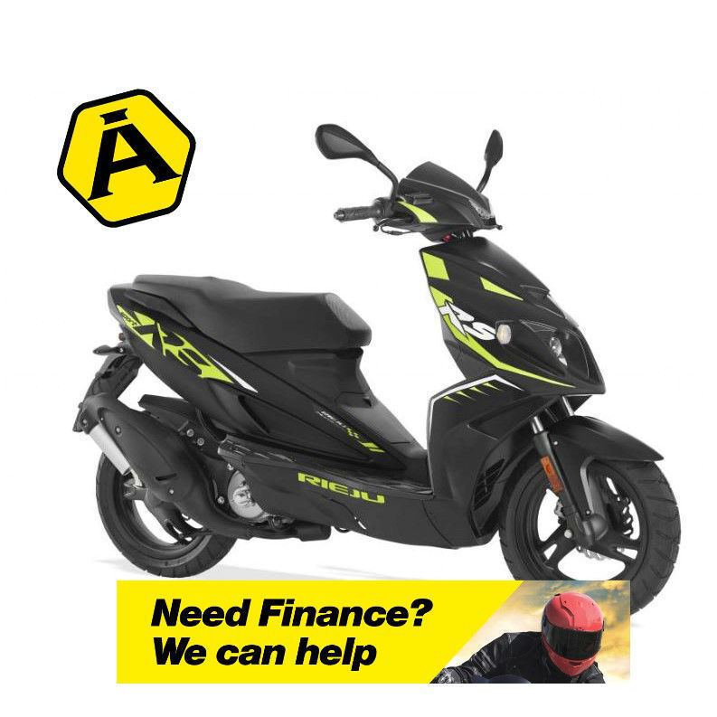 RIEJU RS SPORT 50 LC - SPORTS SCOOTER - LEANER LEGAL - TWIST & GO