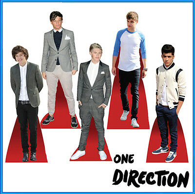 ONE DIRECTION STANDEE TABLE DESKTOP STANDUP CUTOUT 1D CELEBRITY