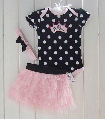 New 2016 Baby Girl Baby Girls Clothing Set 3PCS: headband+shirt+pant Princess