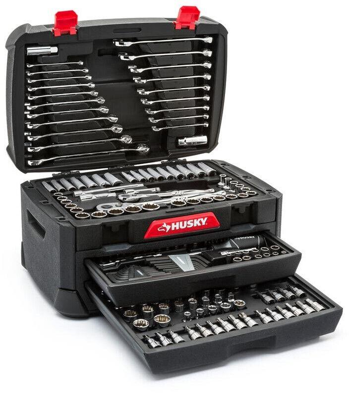 268 piece mechanics tool set w case