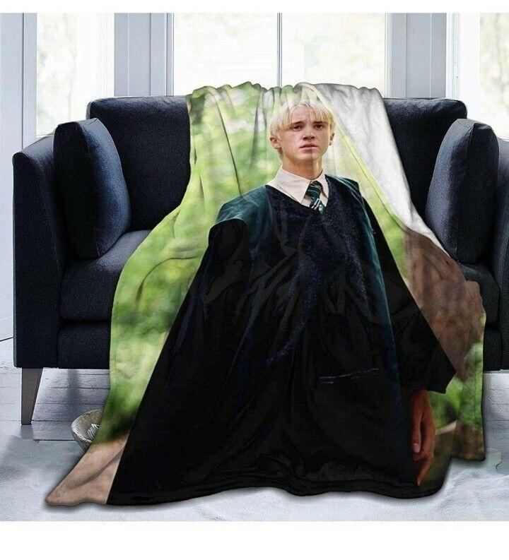 Draco Malfoy Plush Blanket