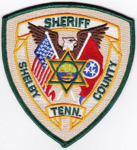 Shelby County Sheriff Police Patch Tennessee TN