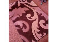 Lovely brown and cream rug