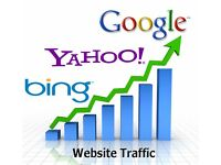 SEO WEBSITE TRAFFIC TO YOUR WEBSITE GUARANTEED IMPROVEMENT ONLY £50