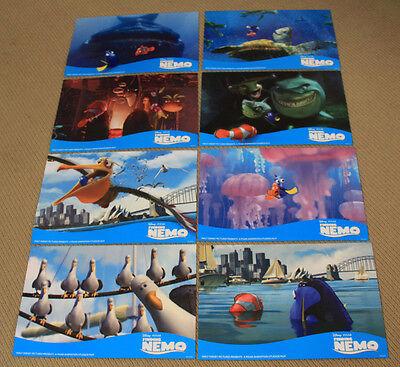 FINDING NEMO original LOBBY CARD SET Pixar WALT DISNEY ANIMATION Ellen DeGeneres