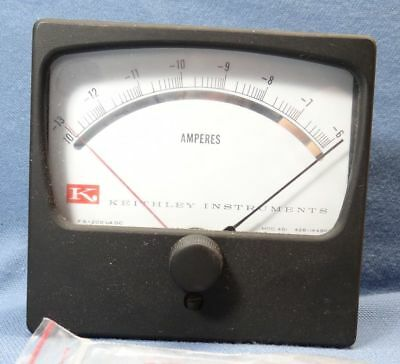 Keithley Instruments 461c Amperes Panel Meter Fs 200 Ua Dc 428-144br5